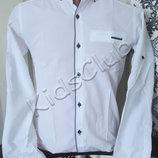 Рубашка хлопок разные модели на рост 140-170