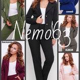 42-50 Стильный жакет, костюмная ткань, женский, пиджак,