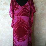 Шикарное платье в лиловый тонах, размер 14