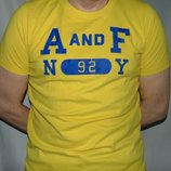 Стильная фирменная футболка бренд Abercrombie & Fitch .л-хл .