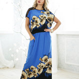 Платье 48,50,52,54,56 размеры 2 цвета