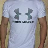 Мужская футболка Under Armour белая.