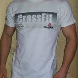 Футболка мужская Reebok CrossFit белая.