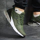 Кроссовки мужские Nike Air Max 270 dark green, Топ качество