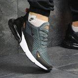 Кроссовки мужские Nike Air Max 270 Gray, Топ качество