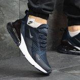 Кроссовки Nike Air Max 270 dark blue, Топ качество