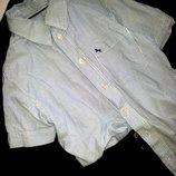 Фирменная рубашка на мальчика от H&M Обнова Снизила цену