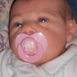 роскошный малыш Реборн Reborn клеймо JLW 56 cм