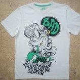 Новая футболка для мальчика белого цвета Тм 5.10.15