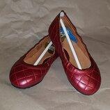 Кожаные детские туфельки туфли балетки Umi Kids Memory Foam umiCloud Tech