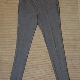 Отличные стильные формальные узкие брюки серого цвета Asos 28/30 р.
