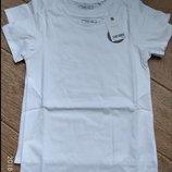 Белая футболка, на рост 122см