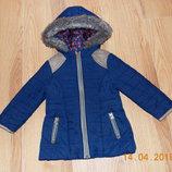 Демисезонная куртка F&F для девочки 3-4 года, 98-104 см