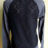 Реглан спина ажур кофта свитер на весну,осінь