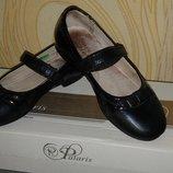 Туфли школьные Рalaris в очень хорошем состоянии. Без дефектов