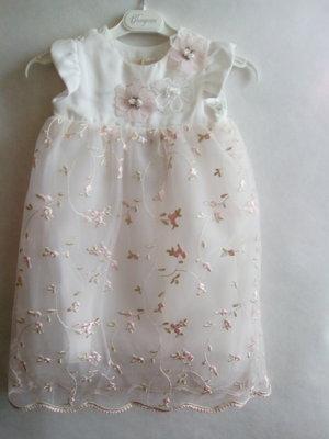 Choupette.Платье с кружевными цветами и вышивкой