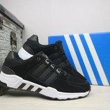 Кроссовки мужские Adidas Equipment Black White