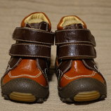 Моя первая обувь - утепленные комбинированные ботинки Goll Венгрия 20