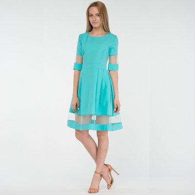 Шикарное Платье Соффи Ментол М-Ка.