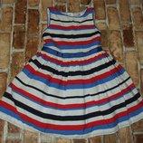 платье наярдное Марк Спенсер 4-5лет большой выбор одежды 1-16лет