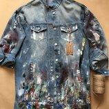 Кляксы На Одежде ручная работа в наличии и под заказ Куртка футболка