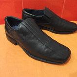 Стильные туфли р. 44 10 Next, полностью натуральная кожа.