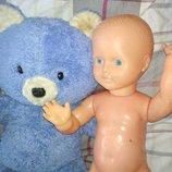 Цена за 2.коллекционная винтажная кукла пупс мишка ведмедь ретро