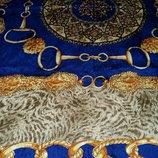 Винтажный брендовый шелковый платок Charlotte Dаvis.Оригинал