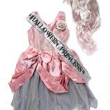 Шикарное платье Принцесса зомби Хеллоуин 6-8 и 8-10 лет