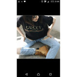 020 Стильная модная Футболка Gucci