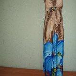 Роскошное платье-бюстье с чашками, 46-48р