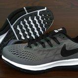Серые мужские кроссовки Nike Air Zoom Pegasus. VIETNAM. 41-46