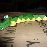 Деревянная Игрушка Змейка, В Кульке