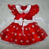 платье минни маус на 2-3 года
