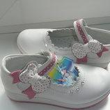 Кожаные туфельки Тм Мальвина 26-30 размер