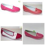 Яркие туфли-балетки для девочки