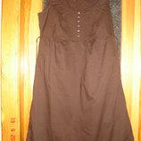 Платье шоколадное Esprit
