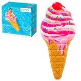 Надувной матрас Плот мороженое рожок 224 107см Интекс Intex 58762