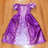 Новогоднее платье Disney для девочки 7-8 лет, 122-128 см