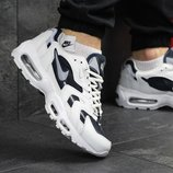 Кроссовки мужские Nike 95 white/blue