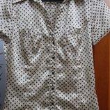 женственная замечательная блузка Zara Basic XS,S