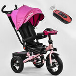 Детский трехколесный велосипед 6088 F 3377 Best Trike New Pink