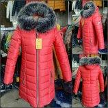 Отличная зимняя куртка парки пуховик много цветов 42 до 64рр