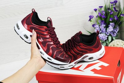 huge selection of 5df89 bff15 Кроссовки Nike Air Max Tn burgundy