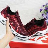 Кроссовки Nike Air Max Tn burgundy