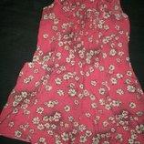 Вискозное платье F&F 7-8л