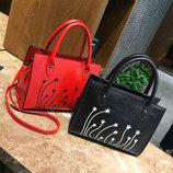 Стильная женская сумка со звездами В Наличии