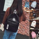 Молодежные тканевые рюкзаки Superhero для школы В Наличии