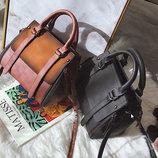 Элегантная женская сумка делового стиля под замш В Наличии