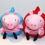Милые детские рюкзаки Свинка Пеппа В Наличии